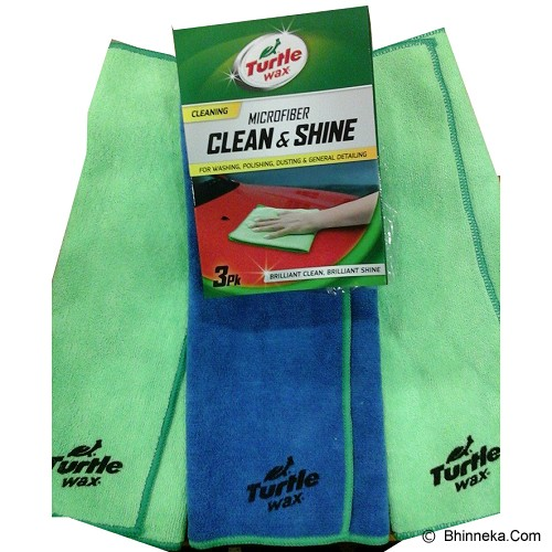 TURTLE WAX Microfiber Clean and Shine [TWA-120] - Sponge/Microfiber/Lap Mobil